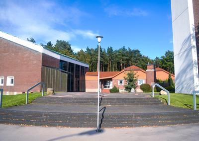 Ev. Militärkirche und Gemeindehaus