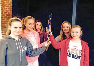 Flötengruppe der Jugendlichen