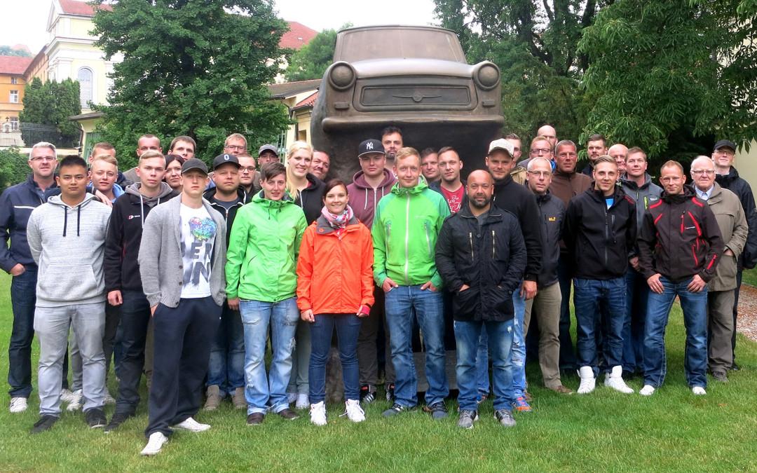 Feldjäger in der Prager Botschaft