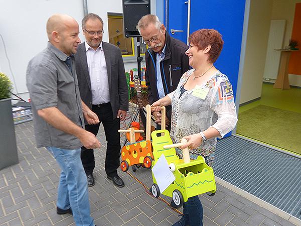 """Kita """"Stachel-Bär"""" offiziell eingeweiht"""