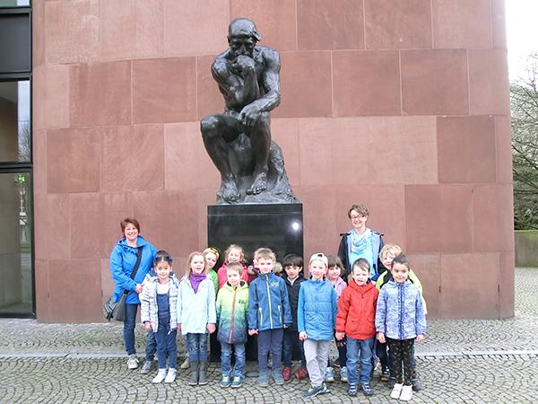 Kita-Kids im Museum