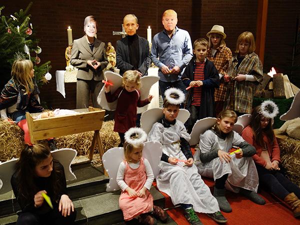 Heiligabend 2017 in der Militärkirche