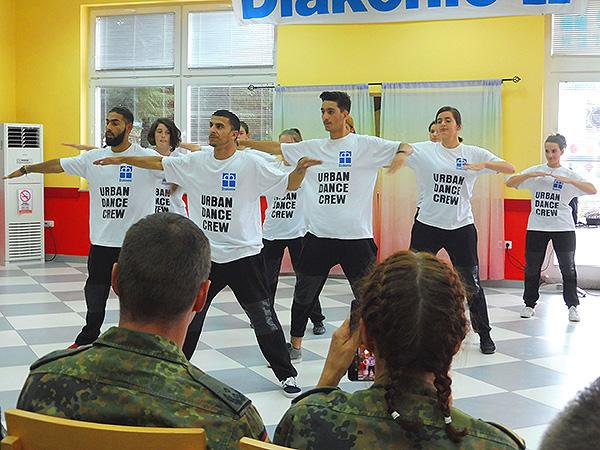 """""""Urban Dance Crew"""" zu Gast"""