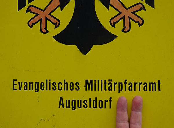 """Melde: """"Augustdorf Zwo eingerichtet"""""""