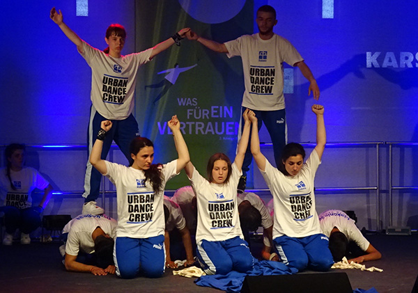 Urban Dance Crew rockt