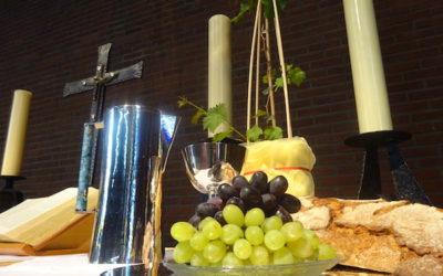 Video und Wein statt Gottesdienst mit Corona